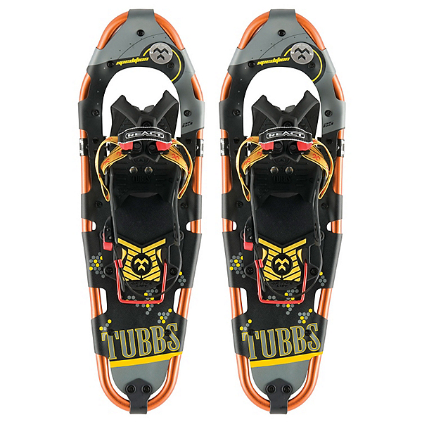 Tubbs Xpedition Backcountry Snowshoes, Yellow Orange-Black, 600