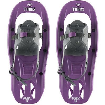 Tubbs Flex Jr Girls Snowshoes, Purple-White, viewer