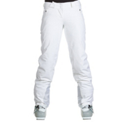 KJUS Glow Womens Ski Pants, White, medium