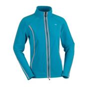KJUS Iceland Fleece Womens Jacket, Jade-Ivory, medium