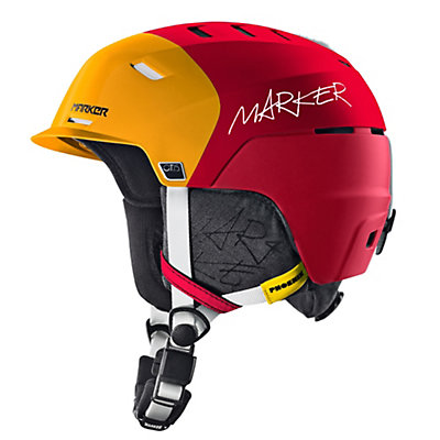 Marker Phoenix O.T.I.S. Helmet, 3 Black Orange-Red, viewer