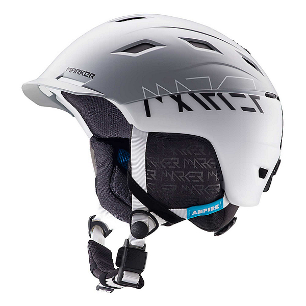 Marker Ampire Helmet, 2 Block White-Grey, 600