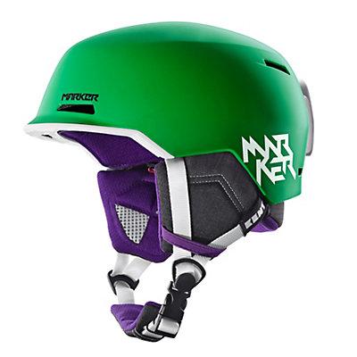 Marker Kent Kids Helmet, All Black, viewer
