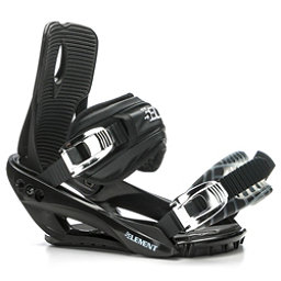 5th Element Stealth 3 Snowboard Bindings, Black, 256