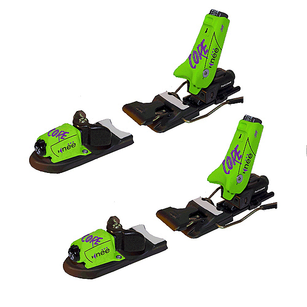 Knee Binding Core Ski Bindings 2017, Neon Green, 600