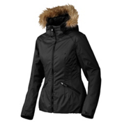 Oakley Foxglove Womens Insulated Snowboard Jacket, Jet Black, medium