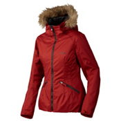 Oakley Foxglove Womens Insulated Snowboard Jacket, Redwood, medium