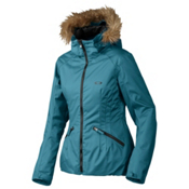 Oakley Foxglove Womens Insulated Snowboard Jacket, Legion Blue, medium