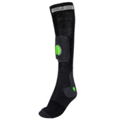 Stable26 Ski Tibia Ski Socks, Black, medium