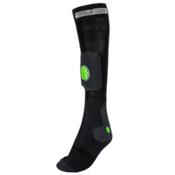 Stable26 Ski Tibia Ski Socks, Black, medium