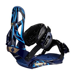 Roxy Team Womens Snowboard Bindings, Blue, 256