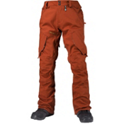 Volcom Articulated Mens Snowboard Pants, Rust, medium