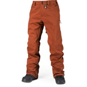Volcom Freakin Snow Chino Mens Snowboard Pants, Rust, medium