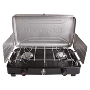 Stansport 2-Burner Regulated Propane Camp, , medium