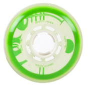 Rink Rat Identity Krysis 78A Inline Hockey Skate Wheels - 4 Pack, Green-White, medium