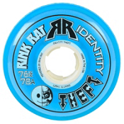 Rink Rat Identity Theft 78A Inline Hockey Skate Wheels - 4 Pack, Blue, medium