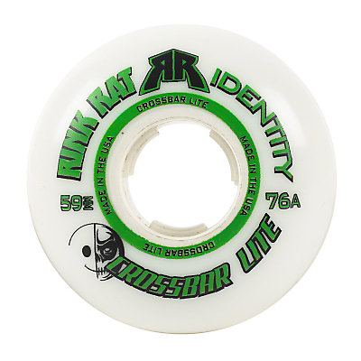 Rink Rat Crossbar Lite Goalie 76A Inline Hockey Skate Wheels - 5 Pack, , viewer