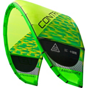 Cabrinha Contra Kiteboarding Kite, Green, medium