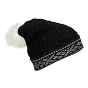 Dale Of Norway Kapp Flora Hat, Black-Off White, medium