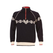Dale Of Norway Sochi Masculine Mens Sweater, Navy-Off White-Raspberry, medium