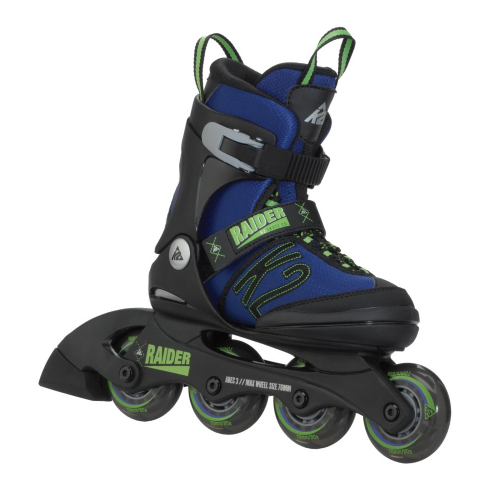 2015 K2 Raider and Marlee Adjustable Kids Inline Skate