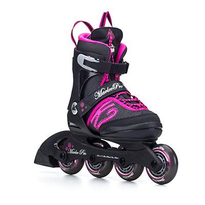 K2 Marlee Pro Adjustable Girls Inline Skates 2016, Black-Pink, viewer