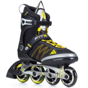 K2 FIT X Pro Inline Skates, Gunmetal-Yellow, medium