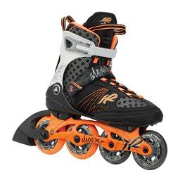 K2 Alexis X Pro Womens Inline Skates, Tangerine-Black, 256