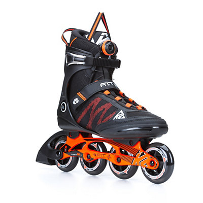K2 F.I.T. 84 Boa Inline Skates, Black-Orange, viewer