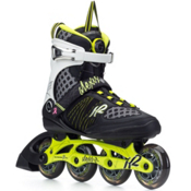 K2 Alexis Boa Womens Inline Skates, Lime-Black, medium