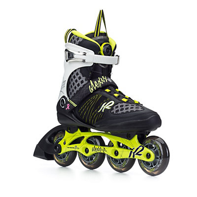 K2 Alexis Boa Womens Inline Skates, Lime-Black, viewer