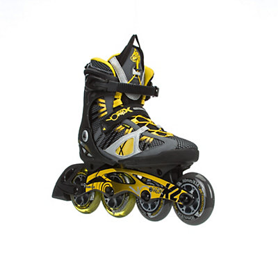 K2 VO2 100 X Pro Inline Skates, Black-Yellow, viewer