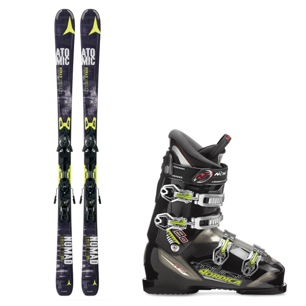 Atomic Smoke Ti and Nordica Cruise 80 Ski Package 2015