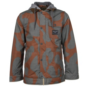 Burton Dunmore Mens Insulated Snowboard Jacket, Maui Sunset Thegiant, medium