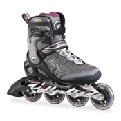 Rollerblade Macroblade 84 ALU Womens Inline Skates, Black-Purple, medium