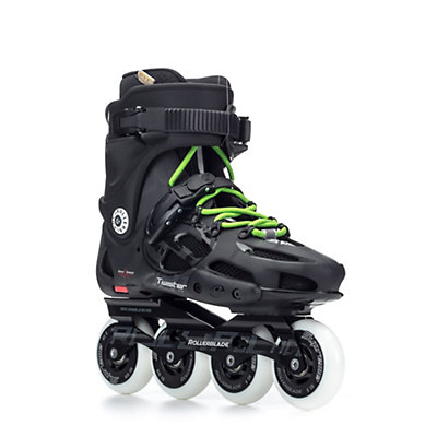 Rollerblade Twister 80 Urban Inline Skates, Black-Green, viewer