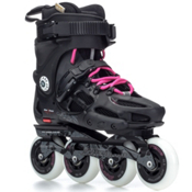 Rollerblade Twister 80 Womens Urban Inline Skates, Black-Fuschia, medium