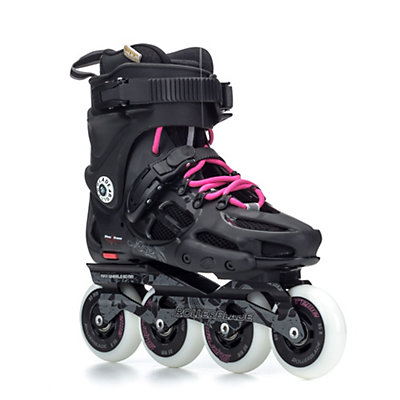Rollerblade Twister 80 Womens Urban Inline Skates, Black-Fuschia, viewer