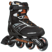 Rollerblade Zetrablade Inline Skates, Black-Orange, medium