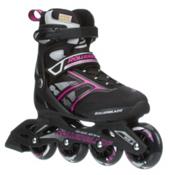 Rollerblade Zetrablade Womens Inline Skates, Black-Pink, medium