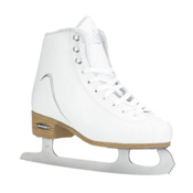 Bladerunner Arabella Womens Figure Ice Skates, White-Silver, medium