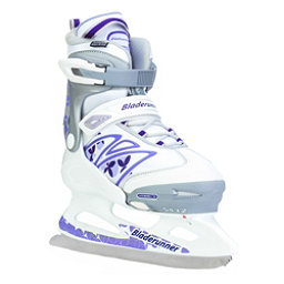 Bladerunner Micro XT Girls Ice Skates, White-Purple, 256