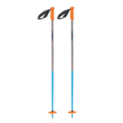 Leki Checker X Ski Poles 2015, Blue-Orange-Black, medium