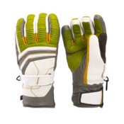 Leki Aspen Retro S Gloves, Lime-White-Graphite-Corn, medium