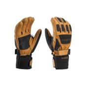 Leki Elements Krypton S Gloves, Tan-Black, medium