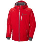 Columbia Millenium Burner Mens Insulated Ski Jacket, Bright Red, medium
