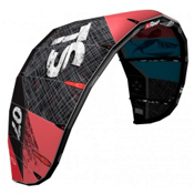 Best 2015 TS V4 Kiteboarding Kite, Coral-Ocean, medium