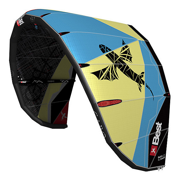 Best 2015 Cabo V3 Kiteboarding Kite, Lemon-Ocean, 600