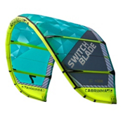 Cabrinha Switchblade Kiteboarding Kite, Blue-Green, medium