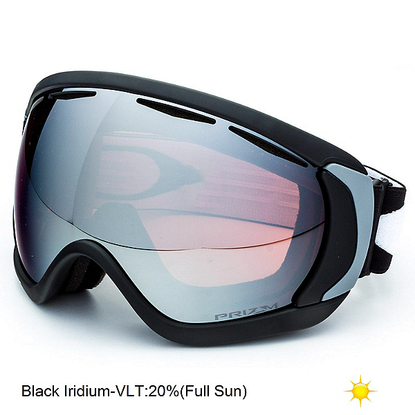 Oakley Canopy Prizm Goggles 2018, Matte Black-Prizm Black Iridiu, 600